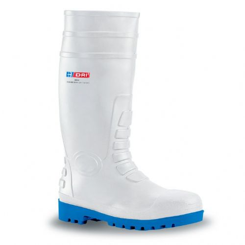 B-Dri Safety White Wellingtons